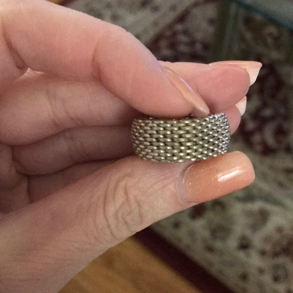 Tiffany & Co. Jewelry - Tiffany mesh ring